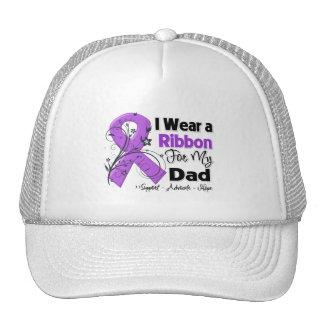 Dad - Pancreatic Cancer Ribbon Mesh Hats