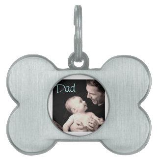 Dad Pet ID Tag