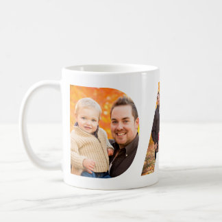 Dad Photo Collage Coffee Mug