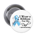 Dad Prostate Cancer Ribbon 2 Inch Round Button