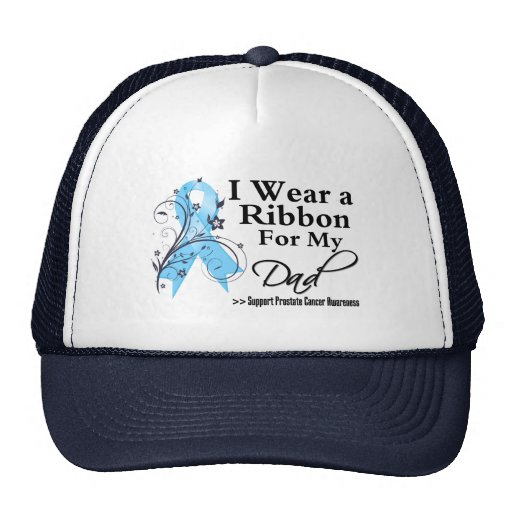 Dad Prostate Cancer Ribbon Hats
