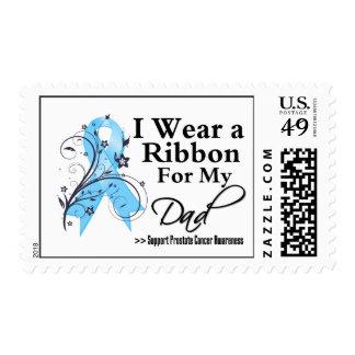 Dad Prostate Cancer Ribbon Stamp