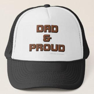 DAD & PROUD TRUCKER HAT