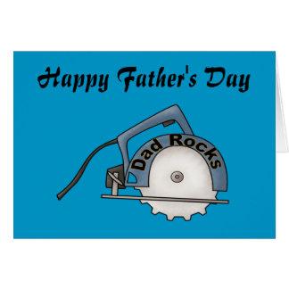 Dad Rocks Card