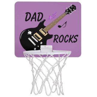 Dad Rocks Electric Guitar Mini Basketball Hoop