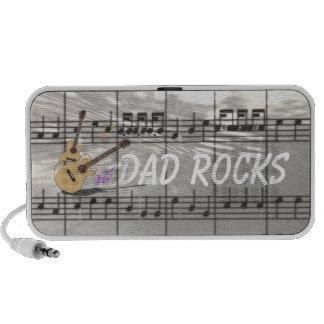 """Dad Rocks"" Music & Guitars Mini Speaker"