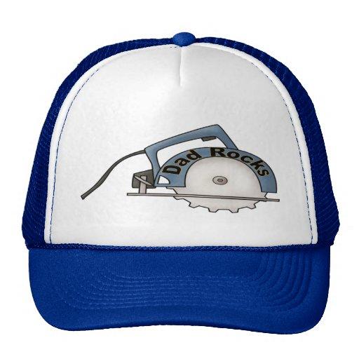 Dad Rocks Trucker Hat