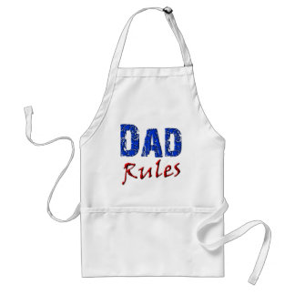 Dad Rules Adult Apron
