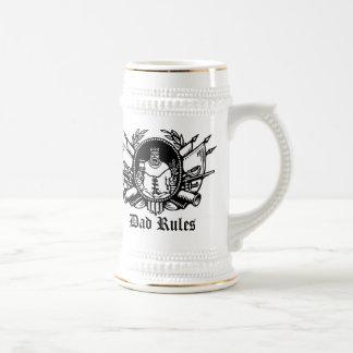 Dad Rules! Beer Stein