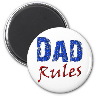 Dad Rules Magnet