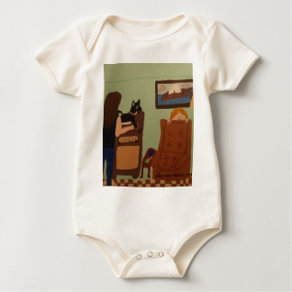Dad`s Chair Infant Shirt