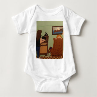 Dad`s Chair Infant T Shirt