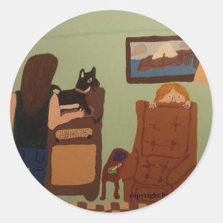 Dad`s Chair Sticker