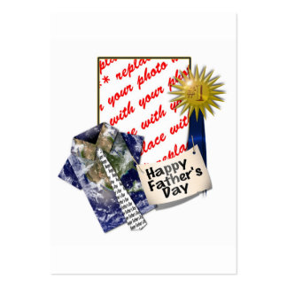 Dad s Favorite Earth Shirt with 1 Ribbon Business Card