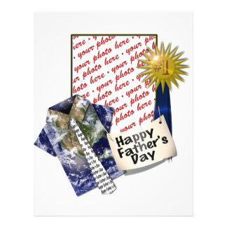 Dad s Favorite Earth Shirt with 1 Ribbon Personalized Flyer