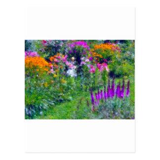 dad s flowers postcard
