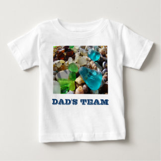 """DAD""""S TEAM Toddler Baby Tee Shirts T-shirts Funny"""