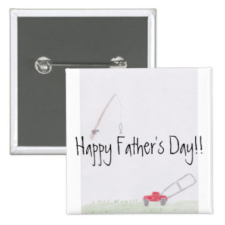 Dad Sayings...Father's Day Button
