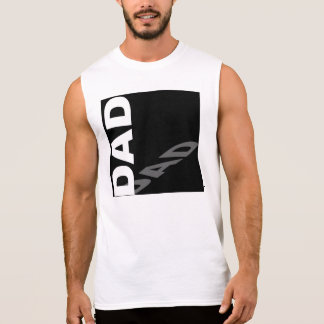 Dad shadow sleeveless tee