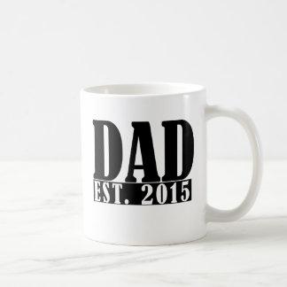 Dad since 2015 coffee mug
