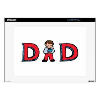 """Dad Skins For 15"""" Laptops"""