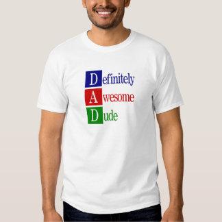 Dad spells... men's t-shirt