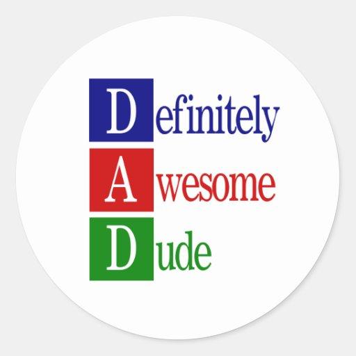 Dad spells...sticker