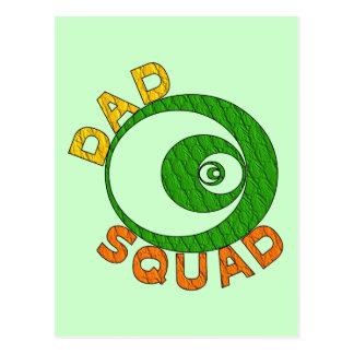 Dad Squad Postcard