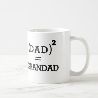 Dad square coffee mug