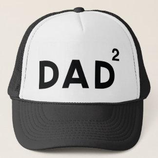 Dad Squared Trucker Hat