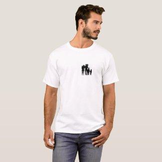 Dad T-shirt white basic
