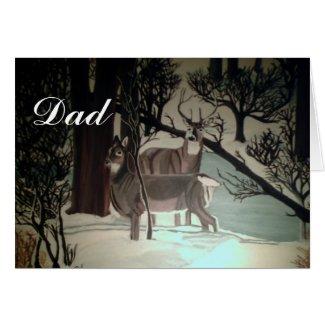 DAD, TEACHES PRIDE card