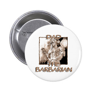 Dad the Barbarian Button