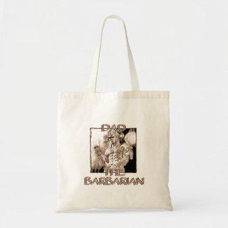 Dad the Barbarian Tote Bag