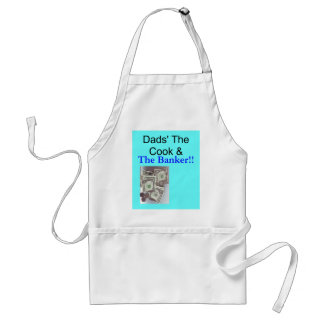 Dad The Cook -The Banker Apron