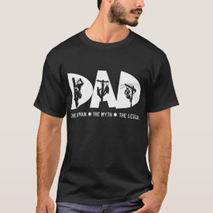 649ade279 Dad The Lineman Myth Legend Fathers Day Gift Shirt