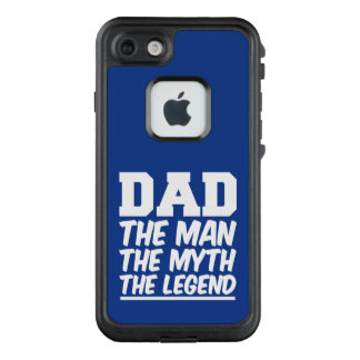 Dad the man the myth the legend phone case