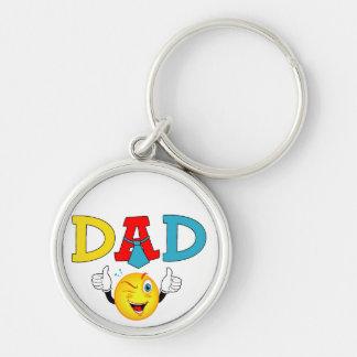 Dad thumbs up keychain