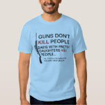 DAD TO A PRETTY DAUGHTER T-SHIRT
