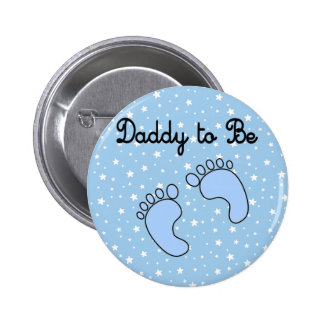 Dad to Be Boy Button
