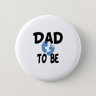 Dad to Be (boy) Button