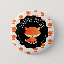 Dad To Be Button Woodlands Theme