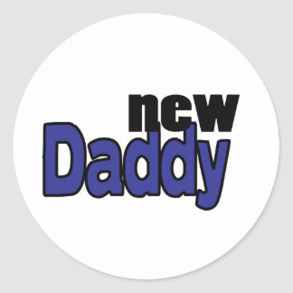 Dad-to-be Gifts! Classic Round Sticker