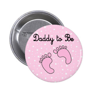 Dad to Be (Girl) 2 Inch Round Button