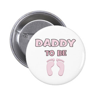 Dad to Be (Girl) Pinback Buttons