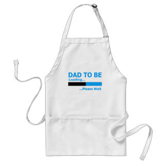 Dad to be loading... please wait. adult apron