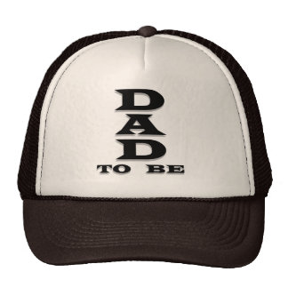 Dad to Be Tshirts and Gifts Mesh Hats