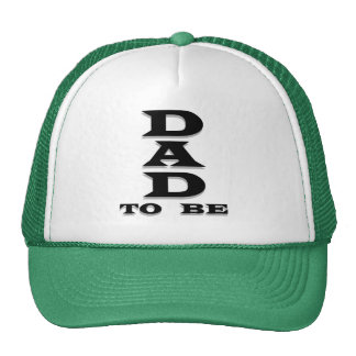 Dad to Be Tshirts and Gifts Mesh Hat