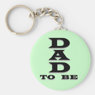 Dad to Be Tshirts and Gifts Basic Round Button Keychain