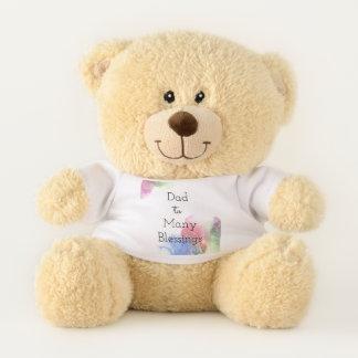 Dad to Many - Foster Dad -Adoptive Dad Teddy Bear